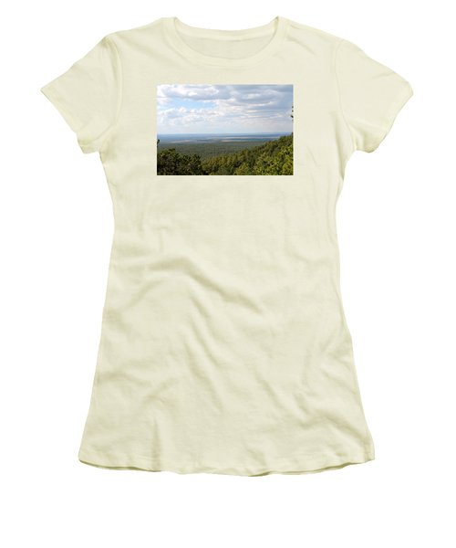 Overlooking Pinetop Women's T-Shirt (Athletic Fit)