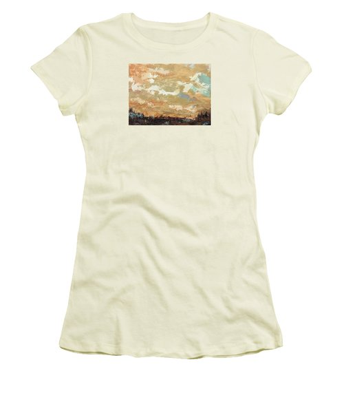Overwhelming Goodness Women's T-Shirt (Junior Cut) by Nathan Rhoads