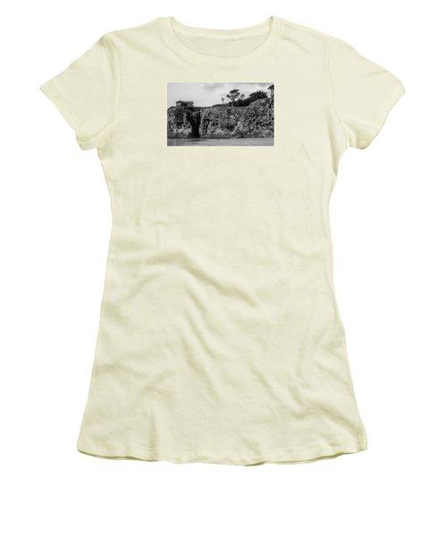 p Women's T-Shirt (Athletic Fit)