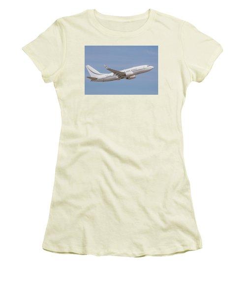 P4-kaz Kazakhstan Government 737 Women's T-Shirt (Athletic Fit)