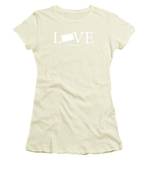Pa Love Women's T-Shirt (Junior Cut) by Nancy Ingersoll
