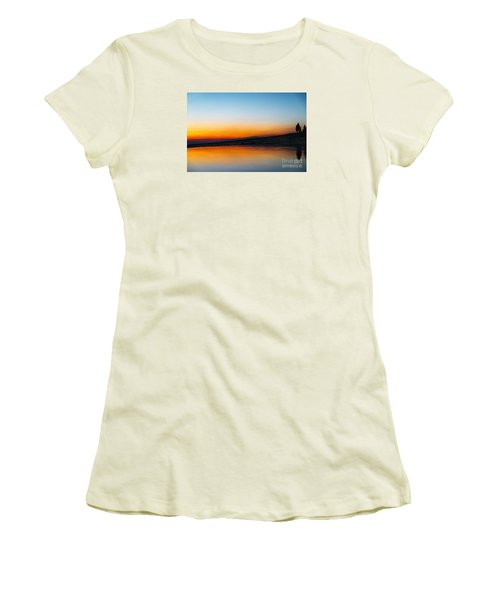 Pammukale Women's T-Shirt (Junior Cut) by Yuri Santin