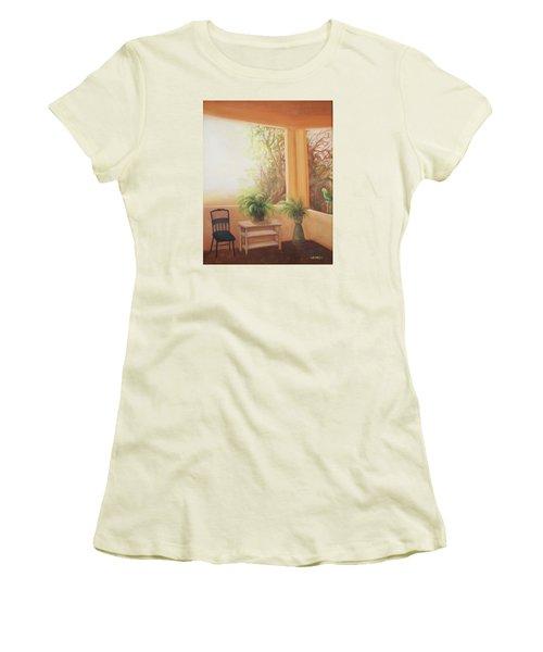 Pancho Come Home Women's T-Shirt (Junior Cut) by Irene Corey