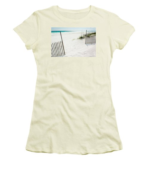 Paradise Scenery Women's T-Shirt (Junior Cut) by Shelby  Young