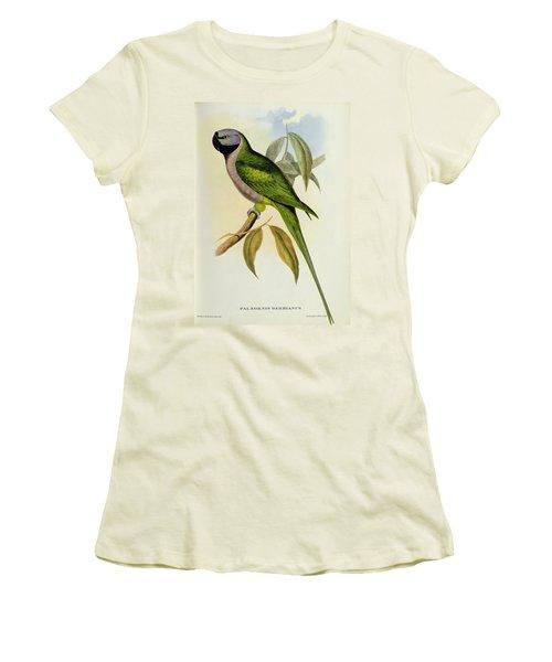 Parakeet Women's T-Shirt (Athletic Fit)