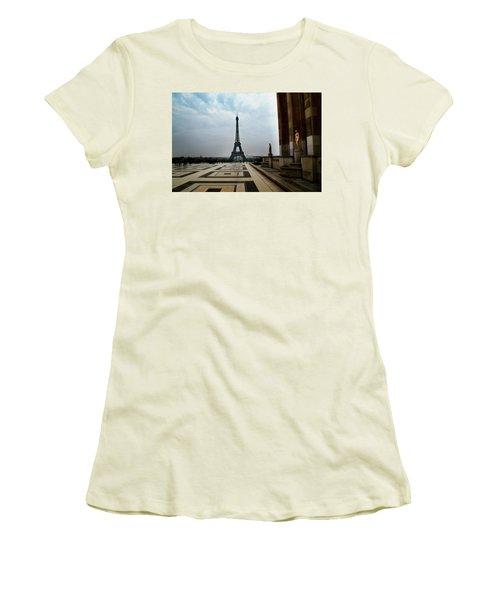 Paris Women's T-Shirt (Athletic Fit)