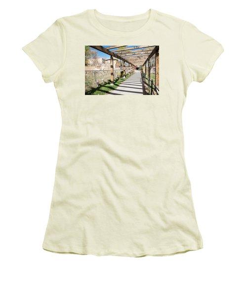 Passage To Sanctuary Women's T-Shirt (Athletic Fit)