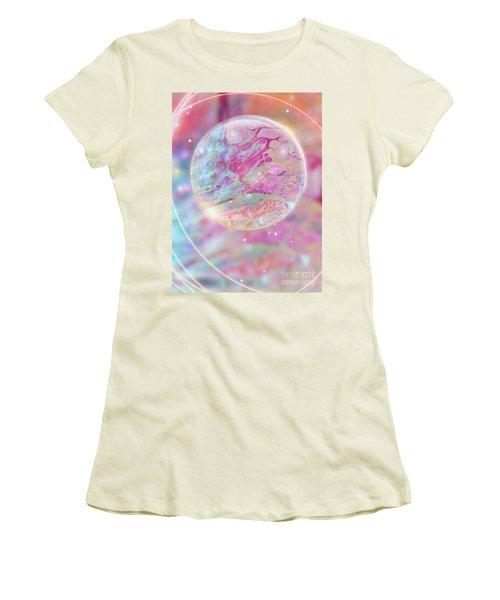 Pastel Dream Sphere Women's T-Shirt (Athletic Fit)