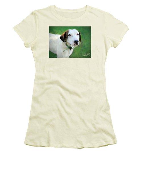 ''patch'' Women's T-Shirt (Junior Cut) by Marion Johnson