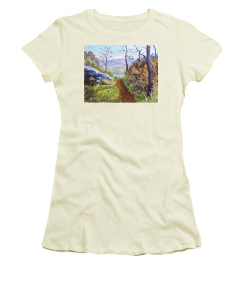 Path To The Water Women's T-Shirt (Athletic Fit)