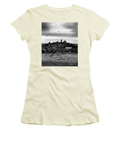 Patzcuaro Women's T-Shirt (Junior Cut) by Ana Mireles