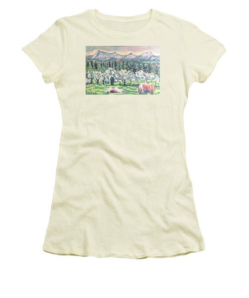 Pear Trees Women's T-Shirt (Athletic Fit)