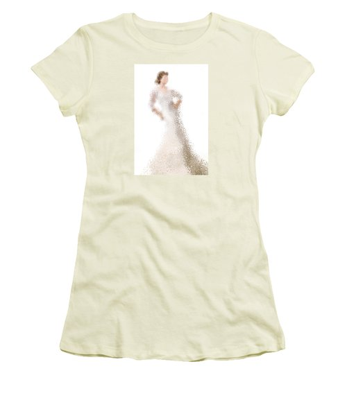 Women's T-Shirt (Athletic Fit) featuring the digital art Penelope by Nancy Levan