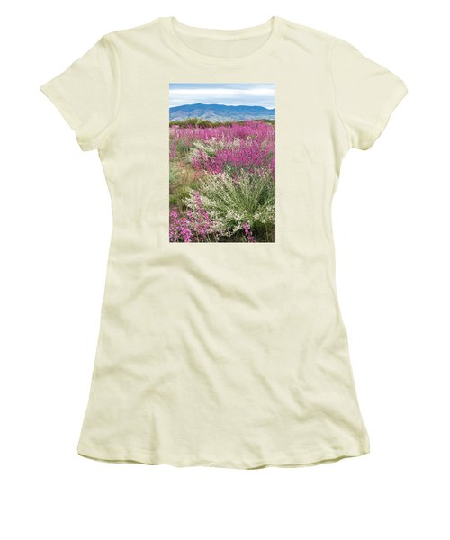 Penstemon At Black Hills Women's T-Shirt (Athletic Fit)