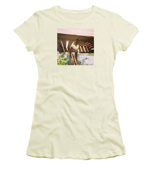 Peparing For Transformation Women's T-Shirt (Junior Cut) by Rebecca Wood