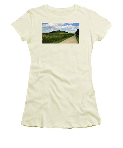 Pheasant Branch Hill Women's T-Shirt (Athletic Fit)