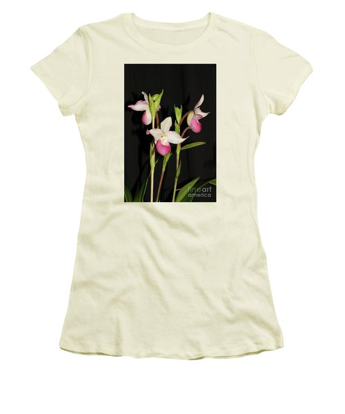 Phragmipedium Cardinale Wacousta Orchid Women's T-Shirt (Athletic Fit)