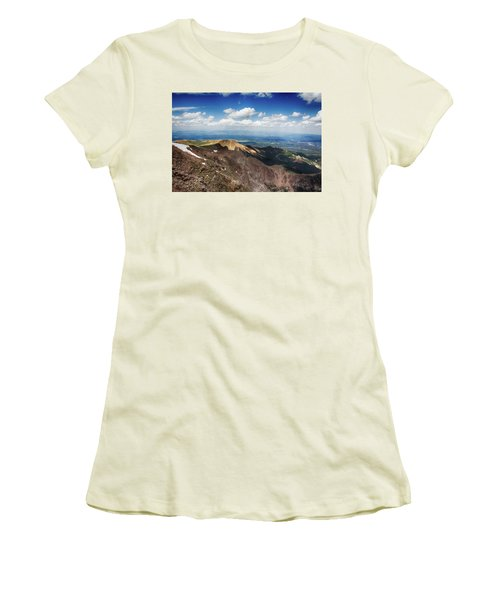 Pikes Peak Women's T-Shirt (Athletic Fit)