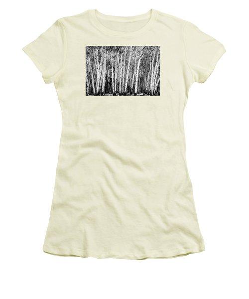 Pillars Of The Wilderness Women's T-Shirt (Junior Cut) by James BO Insogna