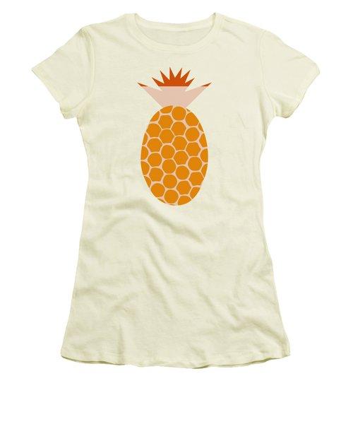 Pineapple Women's T-Shirt (Junior Cut) by Frank Tschakert
