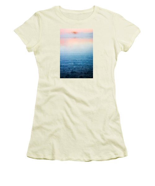 Pink Fog At Sunrise Women's T-Shirt (Junior Cut) by Shelby  Young