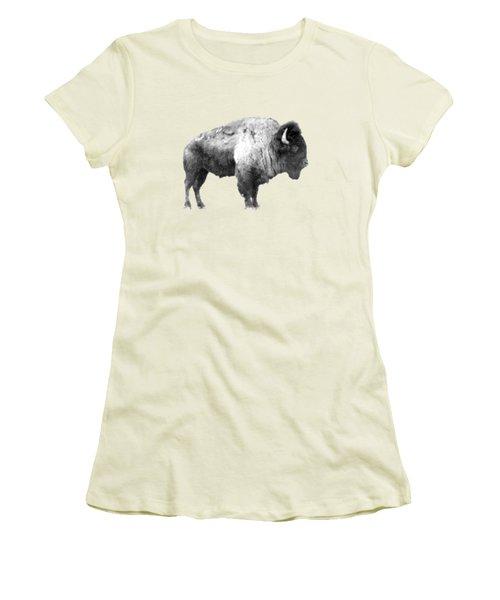 Plains Bison Women's T-Shirt (Athletic Fit)