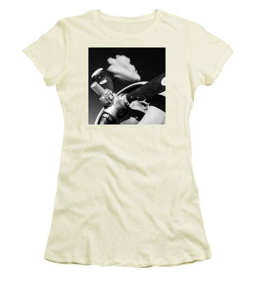 Plane Portrait 2 Women's T-Shirt (Junior Cut) by Ryan Weddle