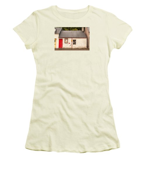 Plockton Cottage Women's T-Shirt (Athletic Fit)