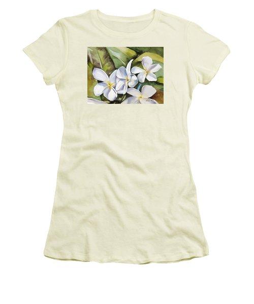Plumeria II Women's T-Shirt (Athletic Fit)