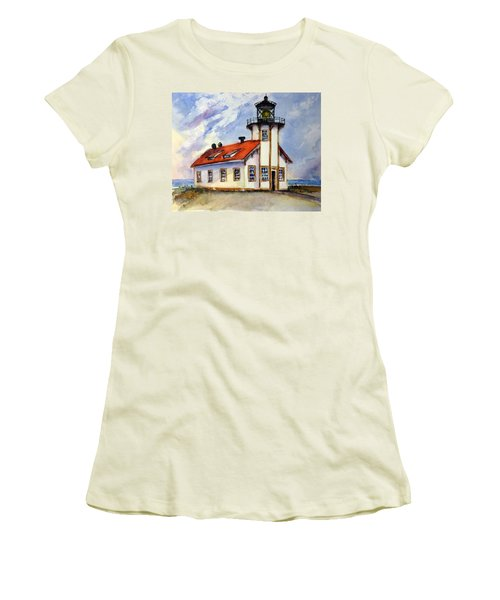 Point Cabrillo Light Station - Fort Bragg Women's T-Shirt (Athletic Fit)