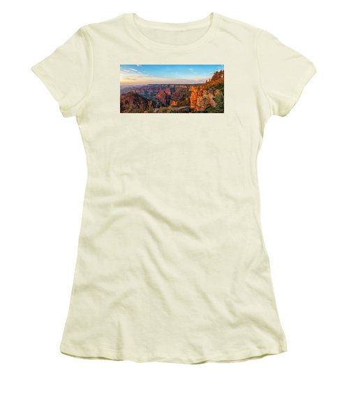 Point Imperial Sunrise Panorama II Women's T-Shirt (Athletic Fit)