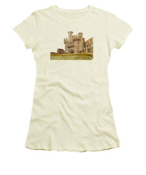 Ponferrada Templar Castle  Women's T-Shirt (Athletic Fit)
