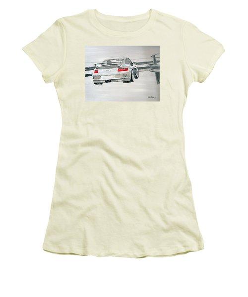 Porsche Gt3 Women's T-Shirt (Athletic Fit)