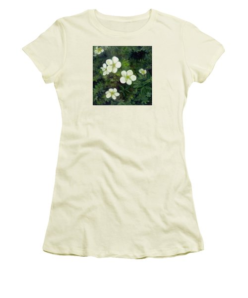 Potentilla Women's T-Shirt (Athletic Fit)