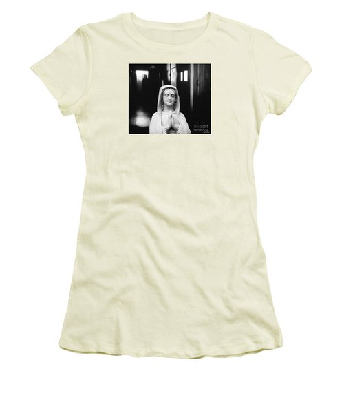 Prayer For Peace Women's T-Shirt (Junior Cut) by Lyric Lucas