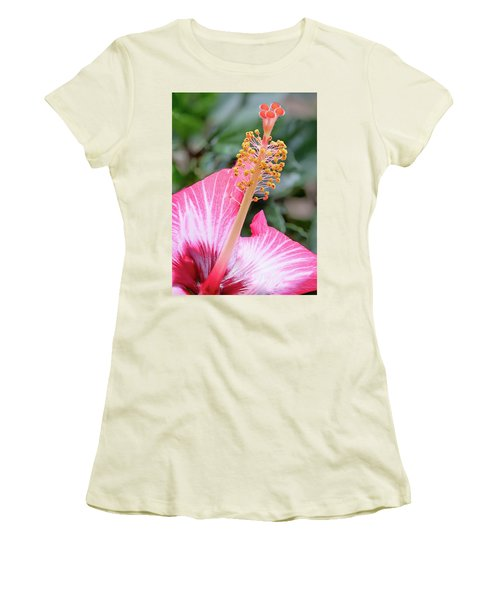 Pretending To Be In Hawaii.... Women's T-Shirt (Athletic Fit)