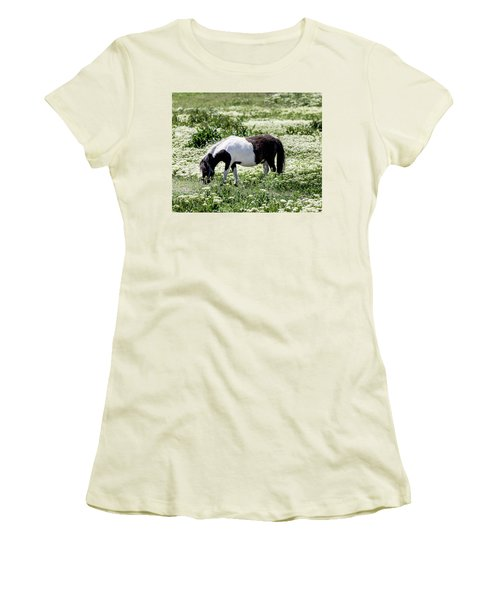 Pretty Painted Pony Women's T-Shirt (Junior Cut) by James BO Insogna