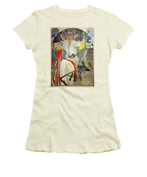 Women's T-Shirt (Junior Cut) featuring the photograph Primavera 1914 by Padre Art