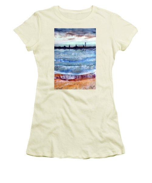 Provincetown Skyline 1 Women's T-Shirt (Athletic Fit)