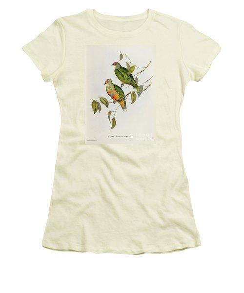 Ptilinopus Ewingii Women's T-Shirt (Athletic Fit)