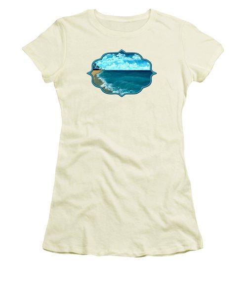 Punta Cana Beach Women's T-Shirt (Athletic Fit)