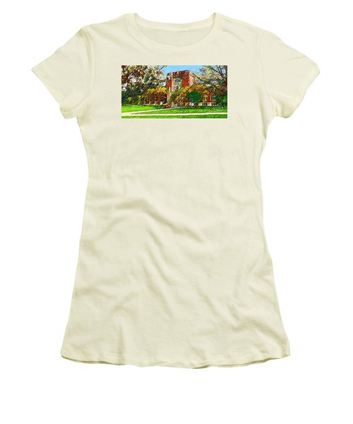 Purdue University Women's T-Shirt (Athletic Fit)