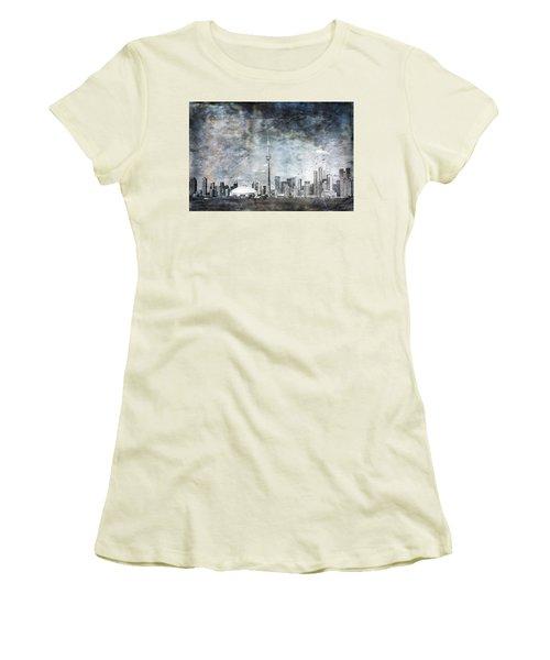 Quiet Sky Women's T-Shirt (Athletic Fit)