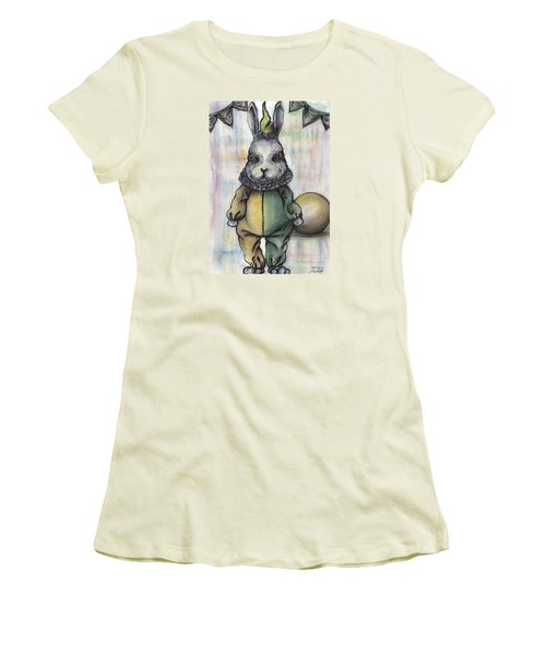 Rabbit Pierrot Women's T-Shirt (Athletic Fit)