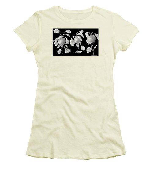 Radishes Women's T-Shirt (Junior Cut) by Quwatha Valentine
