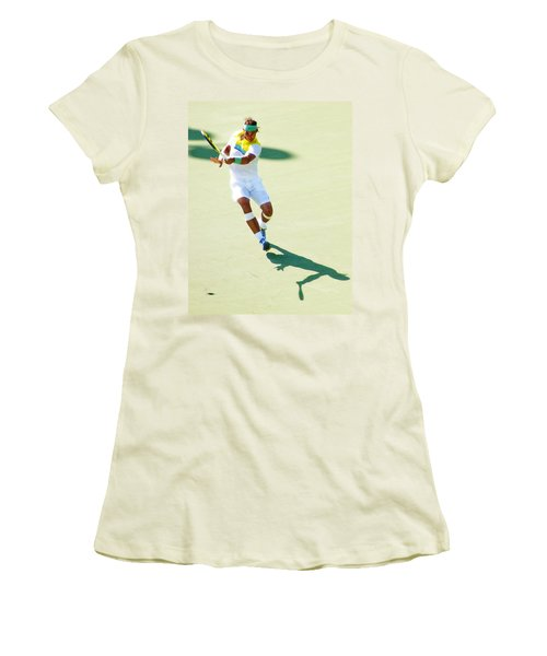 Rafael Nadal Shadow Play Women's T-Shirt (Athletic Fit)