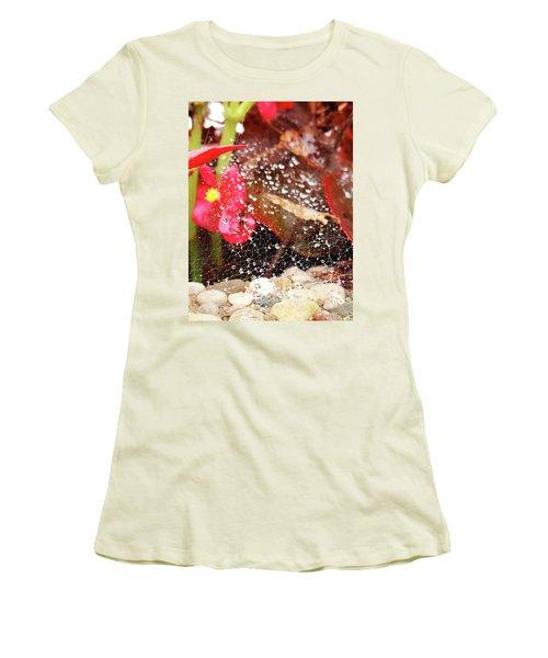 Rain Drops Women's T-Shirt (Athletic Fit)