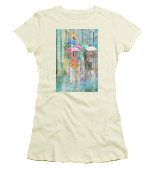 Rainy In Paris 2 Women's T-Shirt (Athletic Fit)