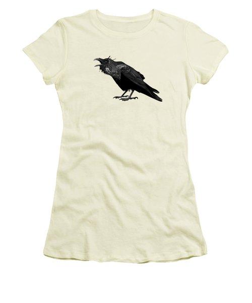 Raven Women's T-Shirt (Athletic Fit)