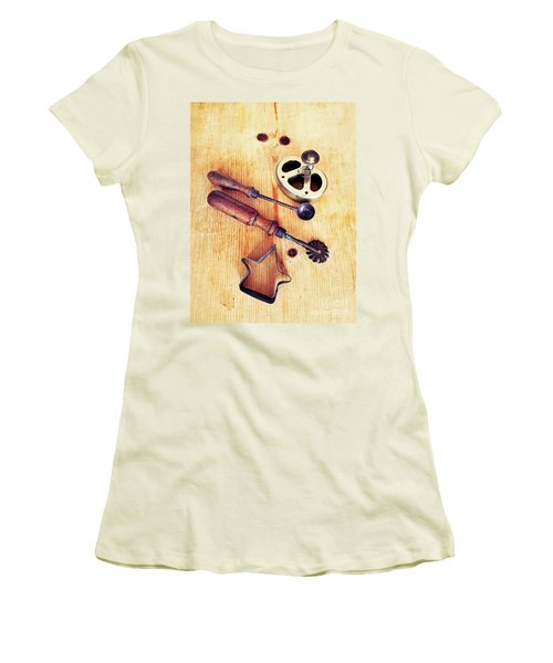 Ready For Baking Women's T-Shirt (Athletic Fit)